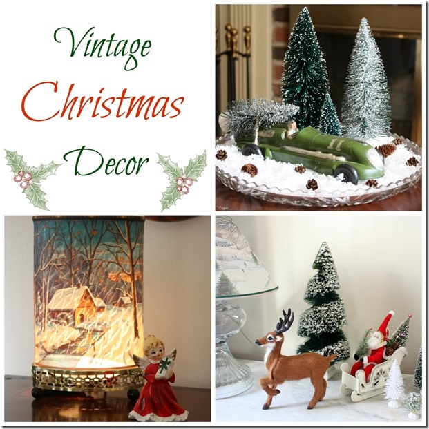 Vintage Christmas Decor by virginiasweetpea.com