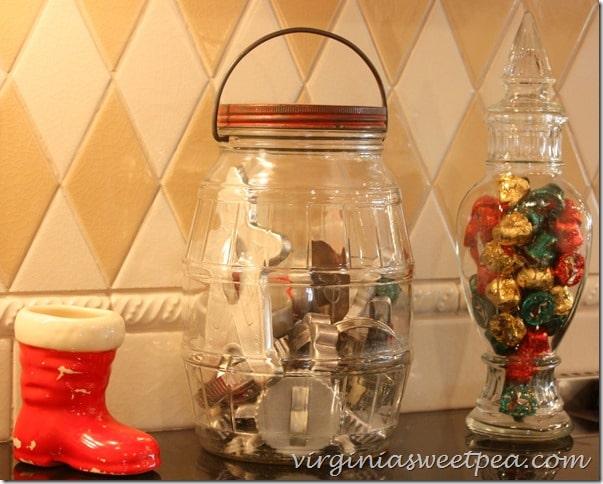 Vintage Cookie Cutters-Vintage Santa Boot