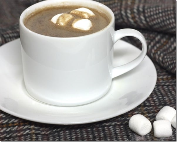 Low Calorie Hot Chocolate - Enjoy hot chocolate guilt free.  This recipe is tasty and low calorie.  virginiasweetpea.com