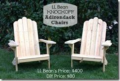 DIY Adirondack Chairs by virginiasweetpea.com