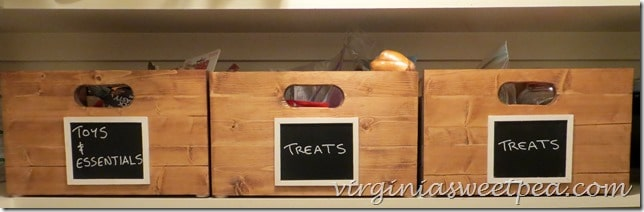 DIY Storage Crates by virginiasweetpea.com