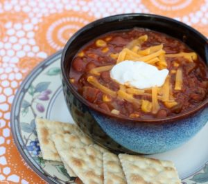 Easy Salsa Chili – Great for a Weeknight Meal