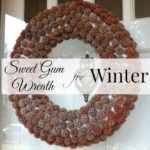 Sweet Gum Wreath for Winter