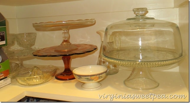 Glassware in the Pantry