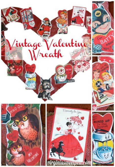 Vintage -Valentine Wreath-byvirginiasweetpea.com