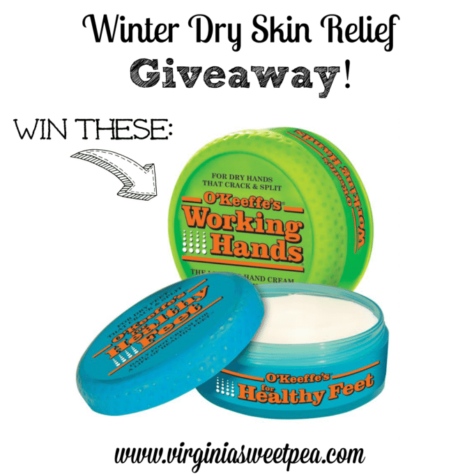 Winter Dry Skin Relief Giveaway