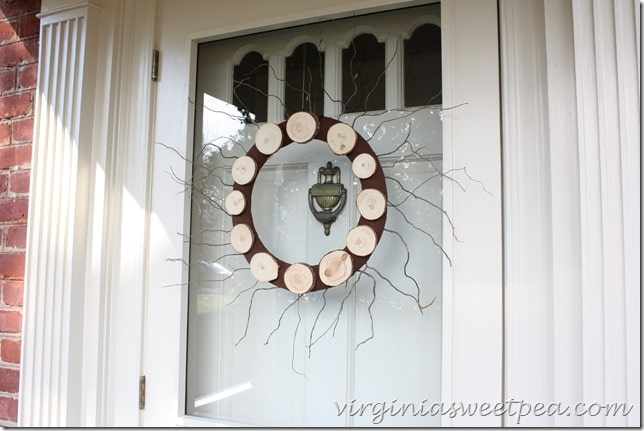 Wood Slice Wreath2