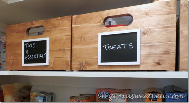 DIY Wooden Crates for Storage