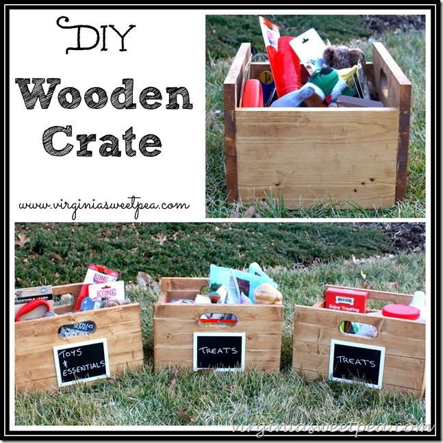 DIY Wooden Crate Tutorial - Get step-by-step instructions to make your own crates.