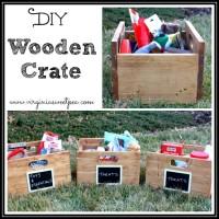 DIY Wooden Crates