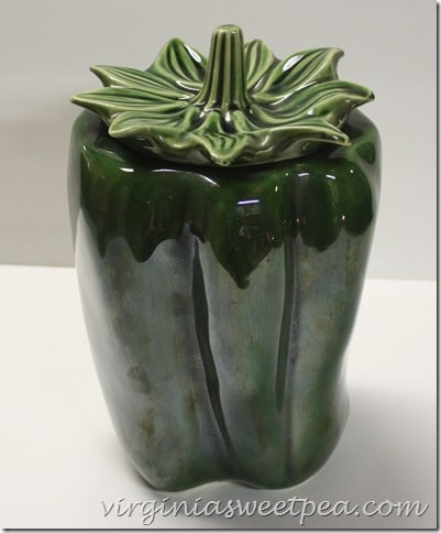 McCoy Green Pepper Cookie Jar
