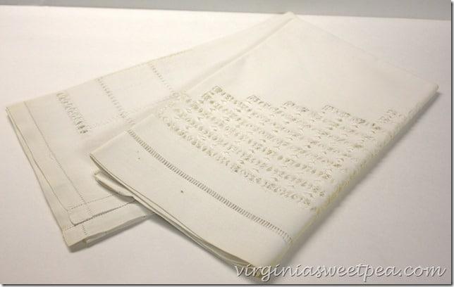 Vintage Cutwork Tablecloth