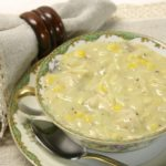 Chicken Corn Chowder by virginiasweetpea.com