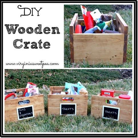 DIY Wooden Crate Tutorial