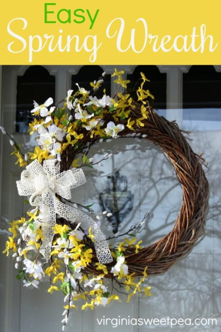 Easy Spring Wreath - Tutorial with Pictures