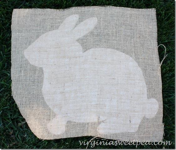 How to Make a Rabbit Door Wreath