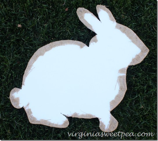 How to Make a Rabbit Door Wreath