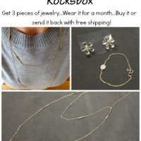 Rocksbox- Jewelry You Can Try Before You Buy!