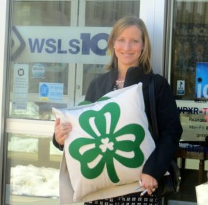 St. Patrick's Day Pillows - Sharing on WSLS TV in Roanoke, VA