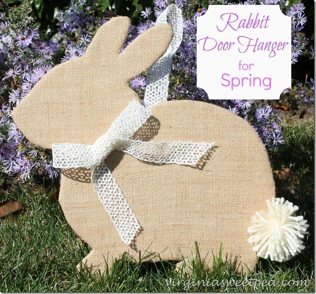 Rabbit Door Hanger for Spring