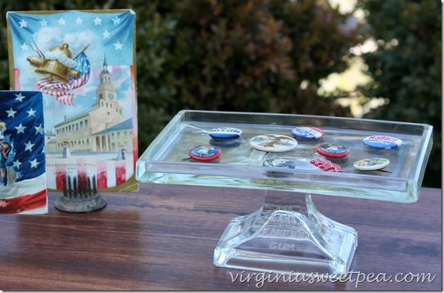 Vintage Clark's Teaberry Gum Stand