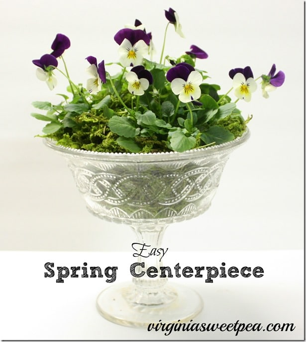 Easy Spring Centerpiece by virginiasweetpea