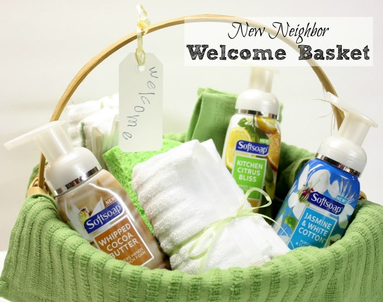 Welcome a New Neighbor with a Gift Basket