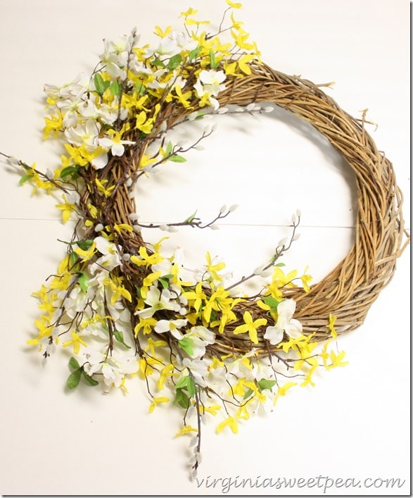 How to Make a Spring Wreath