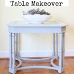 Goodwill Table Makeover