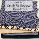 Stitch Fix for April 2015 – My 23rd Fix!