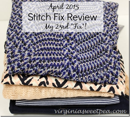April 2013 Stitch Fix Review