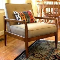 Mid Century Chair Makeover