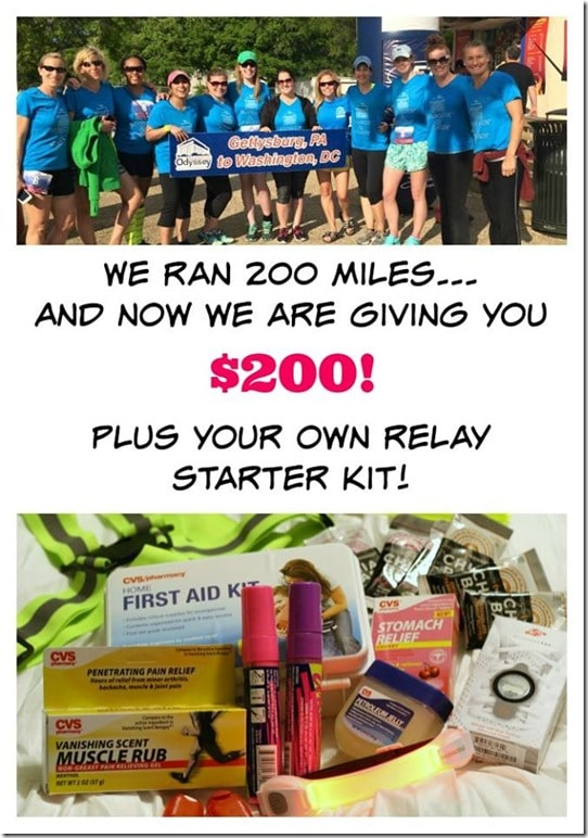 Enter to Win $200 + A Runner's Kit