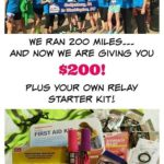 Giveaway!  Win $200 Cash + A Runner's Kit