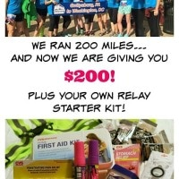 Win $200 Cash + A Runner's Kit