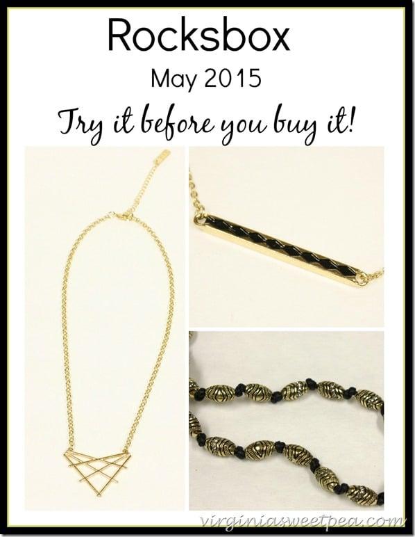 May 2015 Rocksbox Jewelry