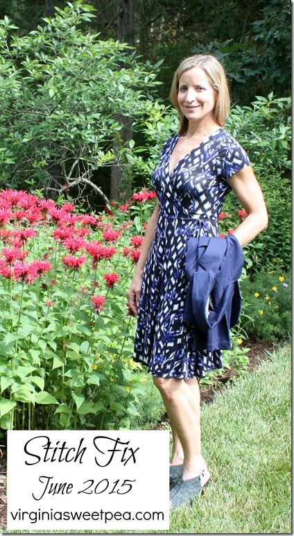 June 2015 Stitch Fix - This dress will be great for work or casual wear this summer. virginiasweetpea.com #stitchfix