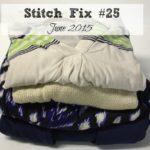 June 2015 Stitch Fix Review (Fix #25!)