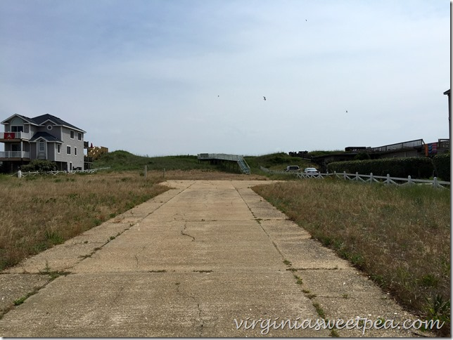 Original site of 1946 Nags Head Beach House.