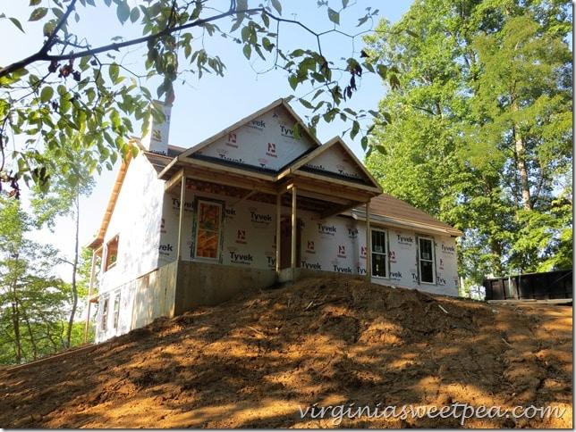 Building a House at Smith Mountain Lake, VA - July 2015 progress #SML