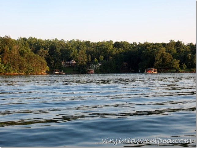 Beautiful Smith MountainLake, VA - View of our Home Across the Cove. #SML