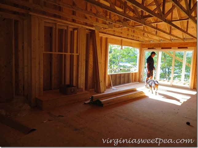 Smith Mountain Lake Build - Living Room