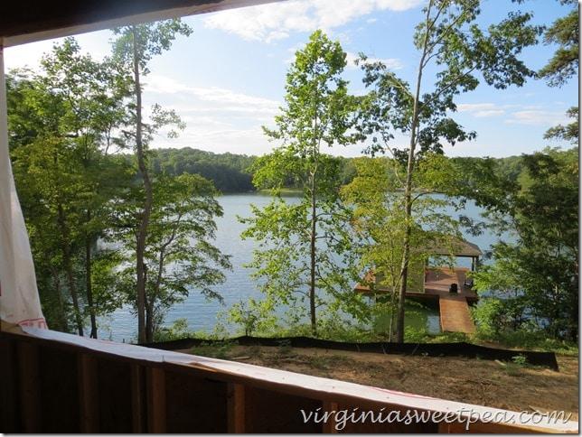 Smith Mountain Lake Master Bedroom View
