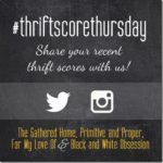 Thrift Score Thursday – I'm Guest Hosting!
