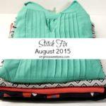 Stitch Fix #27 –  August 2015