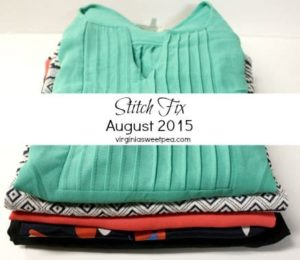 August 2015 Stitch Fix review by virginiasweetpea.com