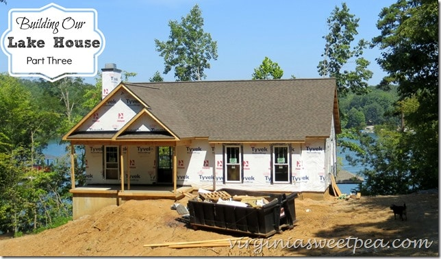 We are building a house at beautiful Smith Mountain Lake in Virginia. Come see the progress we have made! virginiasweetpea.com