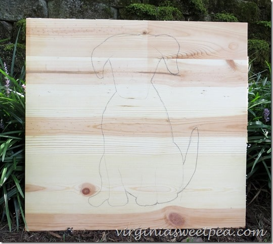 Using a jigsaw to cut an image out of wood isn't difficult. First draw or trace the image on the wood.