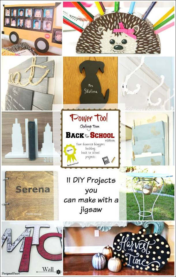 All of these projects were made with the help of a jigsaw.