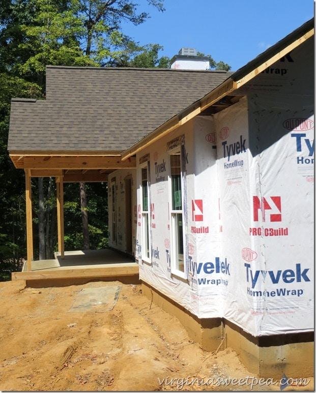 SML house progress - August 2015